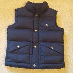 Lands End Boys puffer vest-Like new